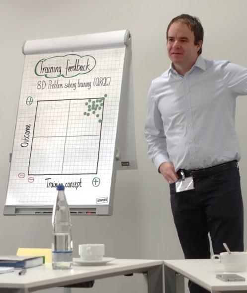 Dominik Volkmer Training feedback